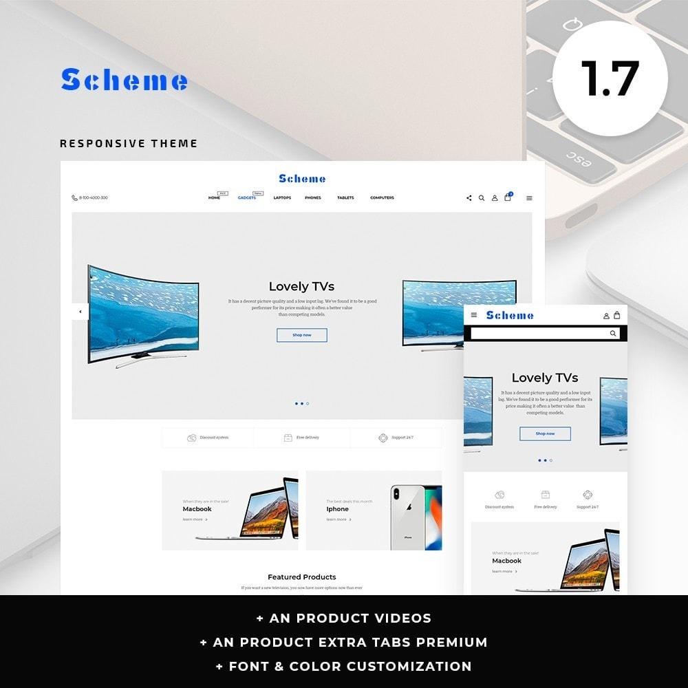 theme - Electronics & Computers - Scheme - High-tech Shop - 1