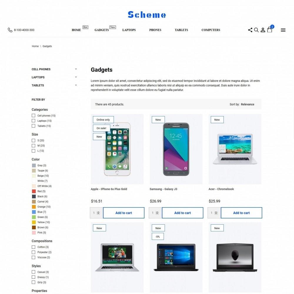 theme - Electronics & Computers - Scheme - High-tech Shop - 5