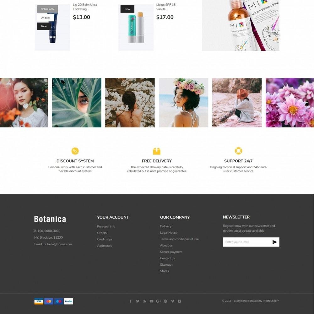 theme - Health & Beauty - Botanica Cosmetics - 4