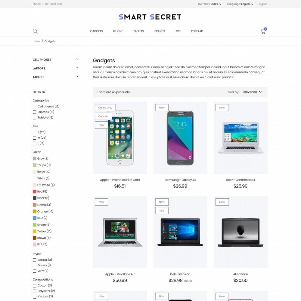 theme - Electronics & Computers - Smart secret- High-tech Shop - 5