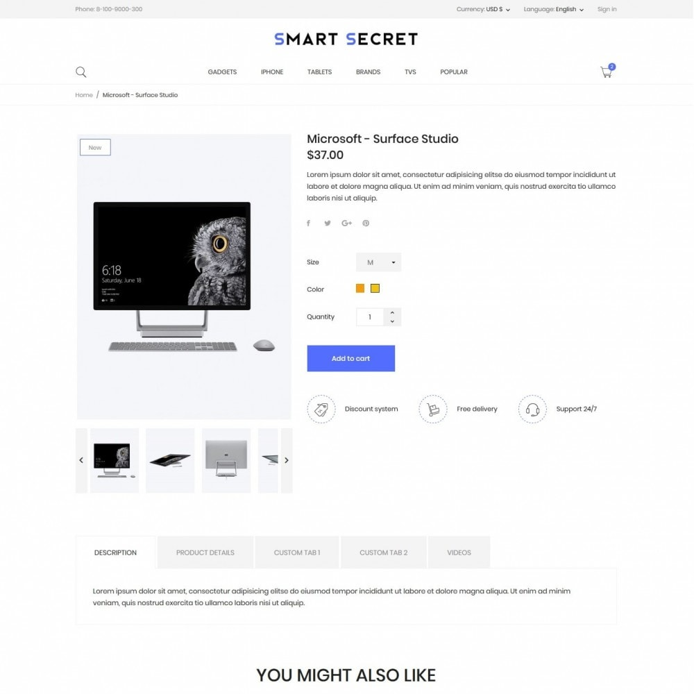 theme - Electronics & Computers - Smart secret- High-tech Shop - 6
