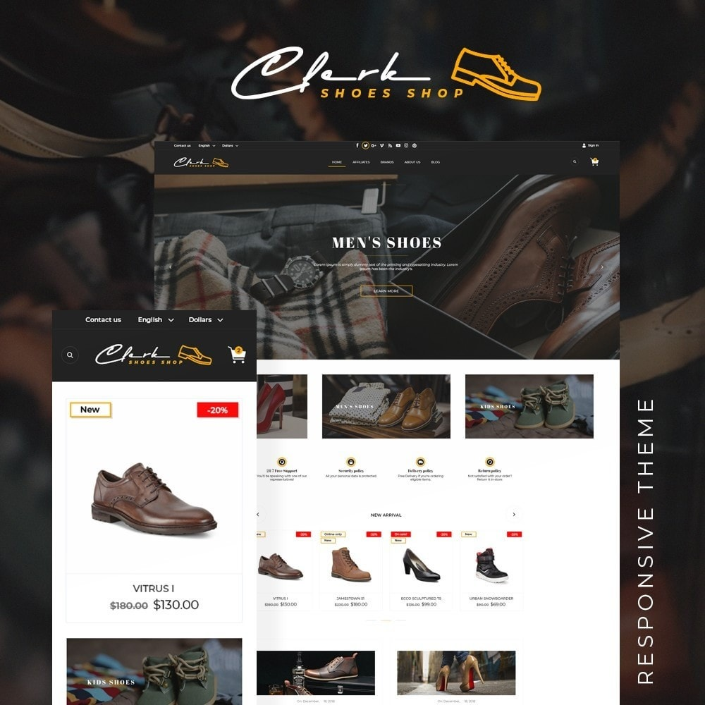 theme - Fashion & Shoes - Clerk Shop - 1