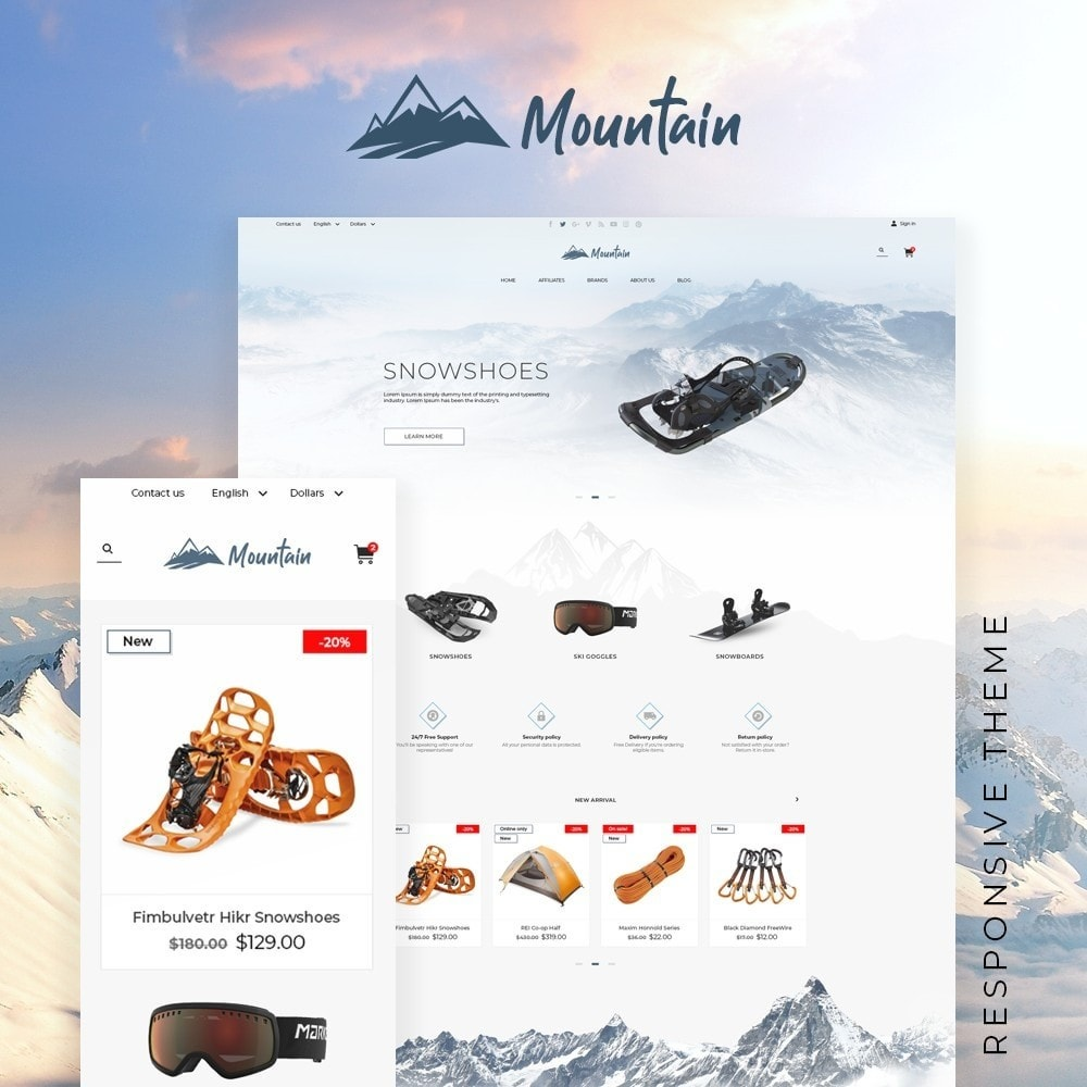 theme - Sports, Activities & Travel - Mountain - 1