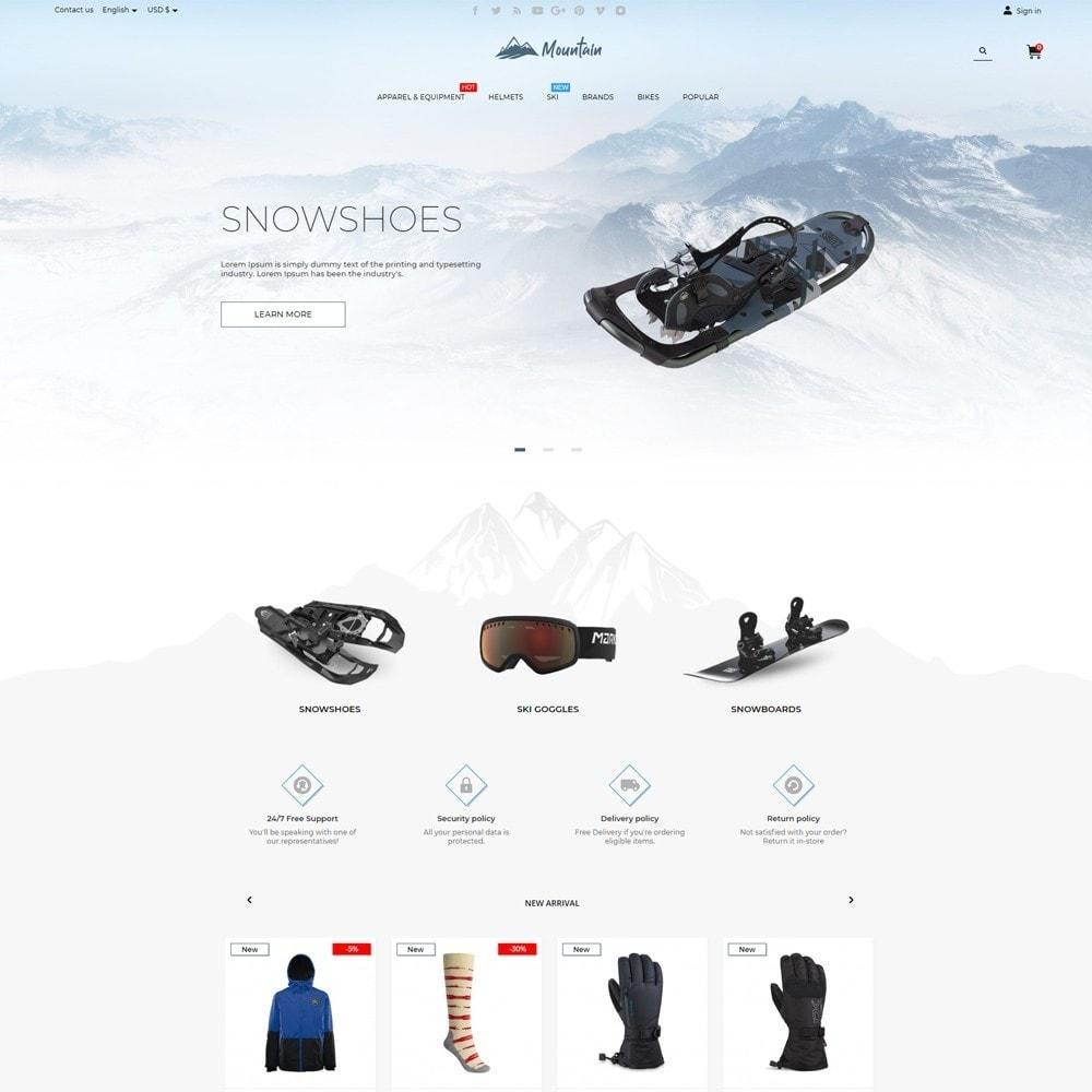 theme - Desporto, Actividades & Viagens - Mountain - 2