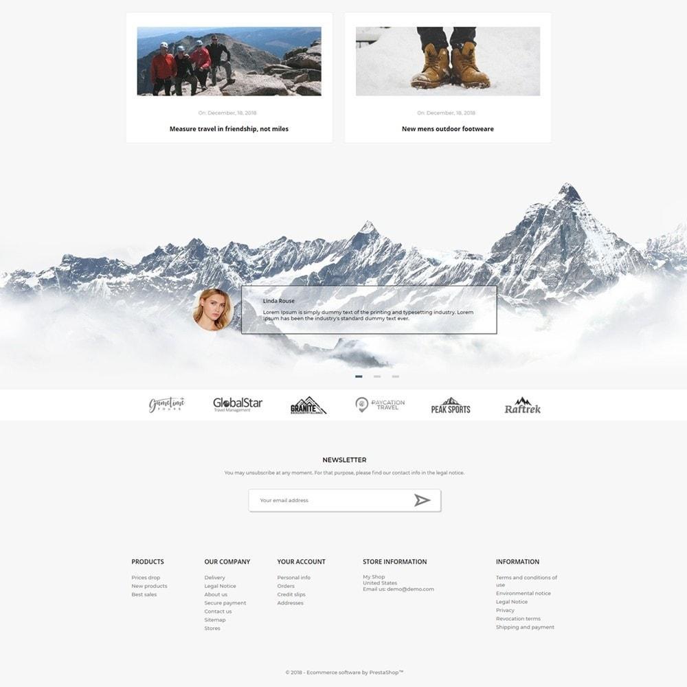 theme - Desporto, Actividades & Viagens - Mountain - 4