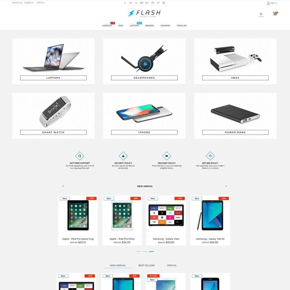 theme - Electronics & Computers - Flash - High-tech Shop - 2