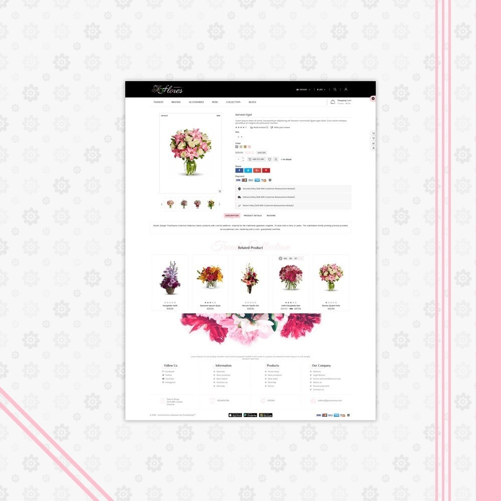 theme - Gifts, Flowers & Celebrations - Flower Gift Store Template - 5
