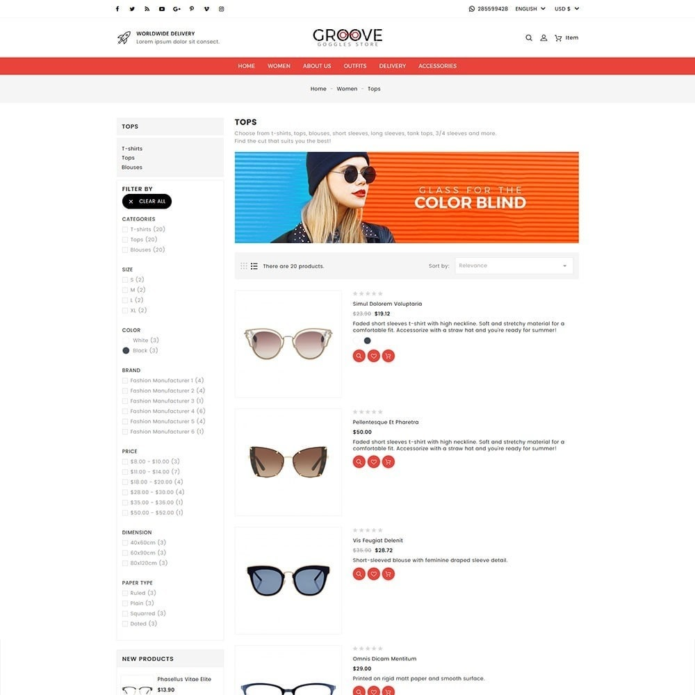 theme - Jewelry & Accessories - Groove Goggles Store - 5