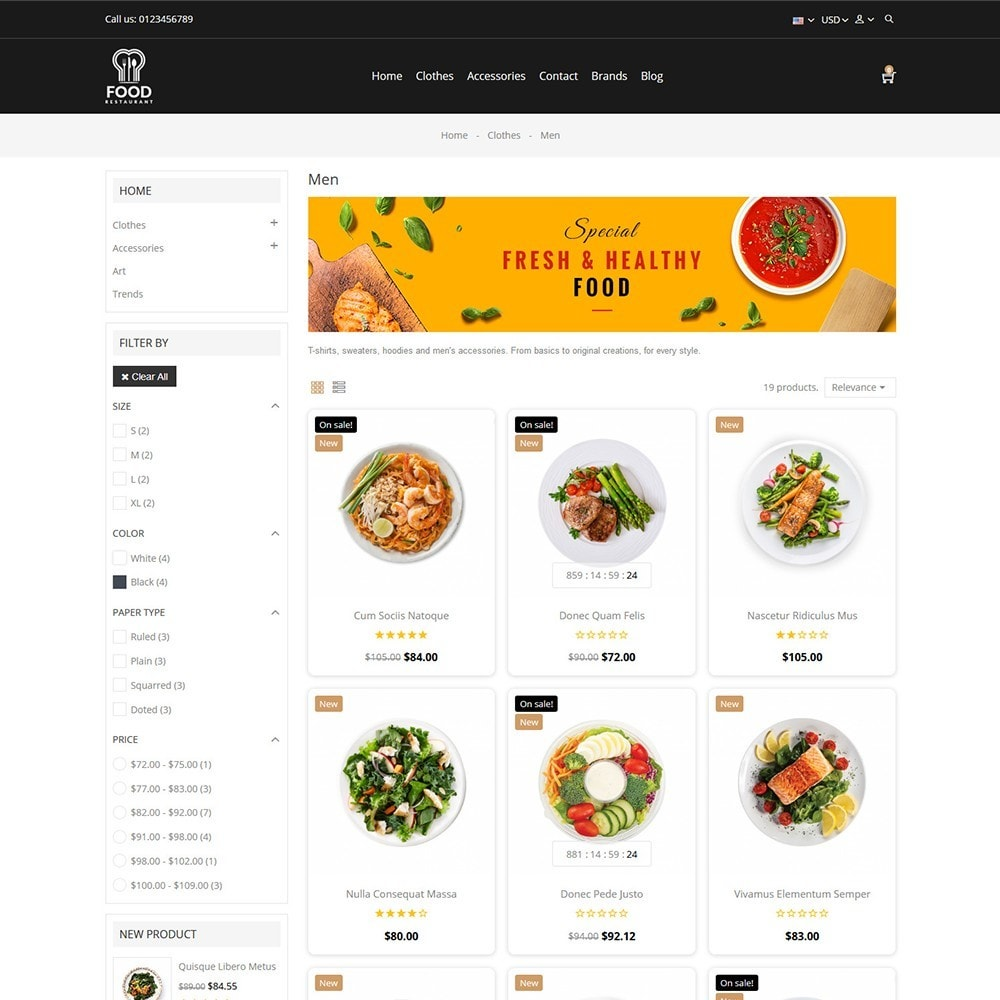 theme - Alimentos & Restaurantes - Food Store - 3