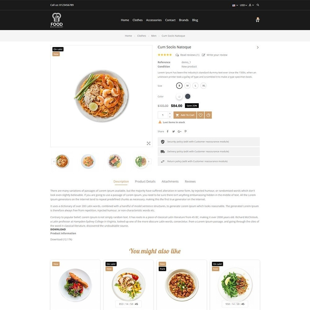theme - Alimentation & Restauration - Food Store - 4