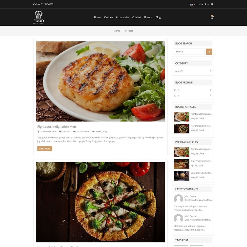 theme - Lebensmittel & Restaurants - Food Store - 5