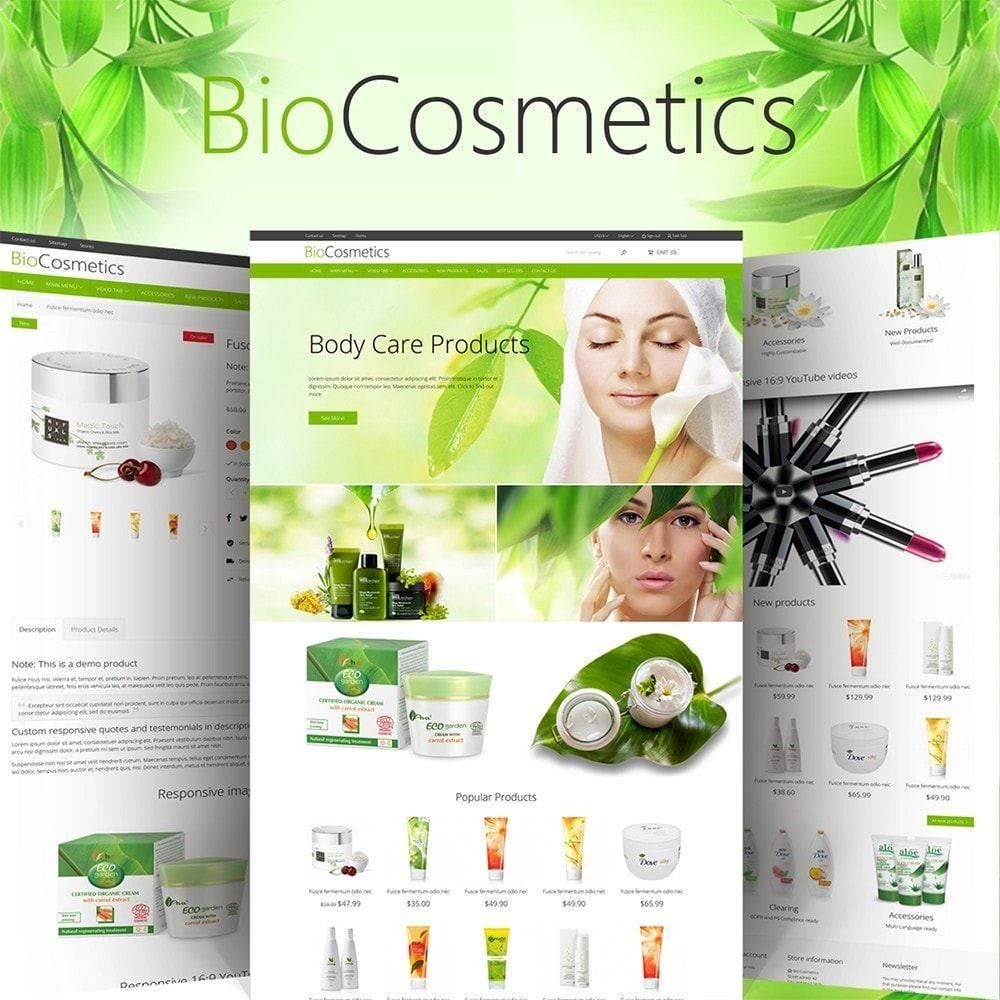 theme - Health & Beauty - DT Bio Cosmetic - 1