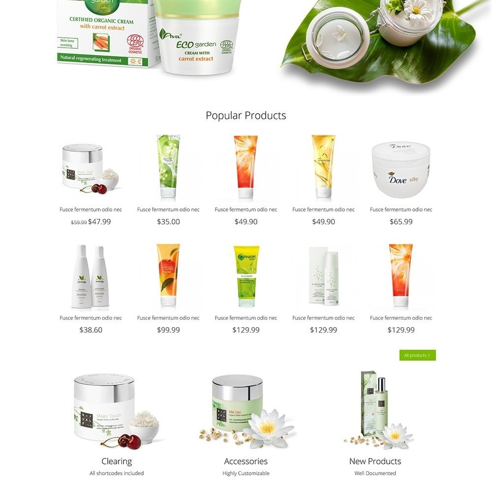theme - Health & Beauty - DT Bio Cosmetic - 4