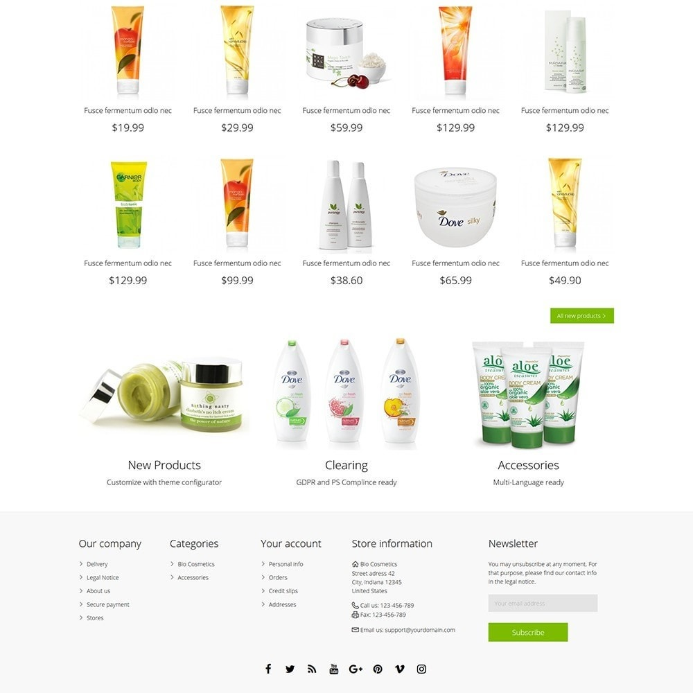theme - Health & Beauty - DT Bio Cosmetic - 5