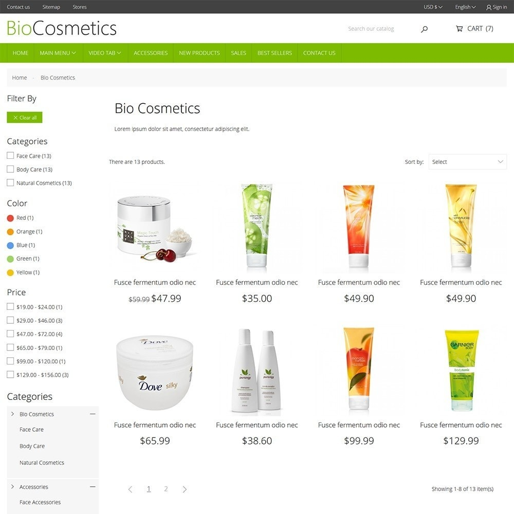 theme - Health & Beauty - DT Bio Cosmetic - 6