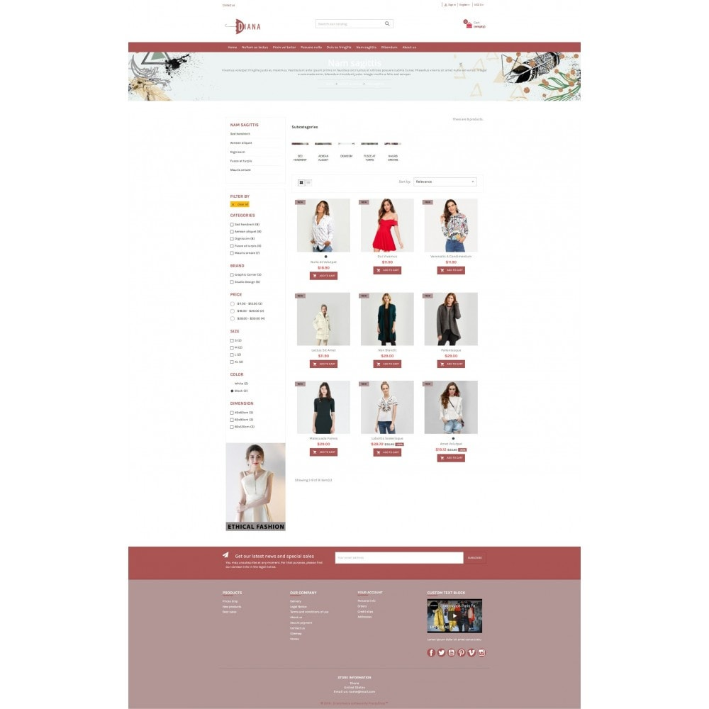 theme - Moda & Calzature - Diana - Fashion premium multipurpose - 4