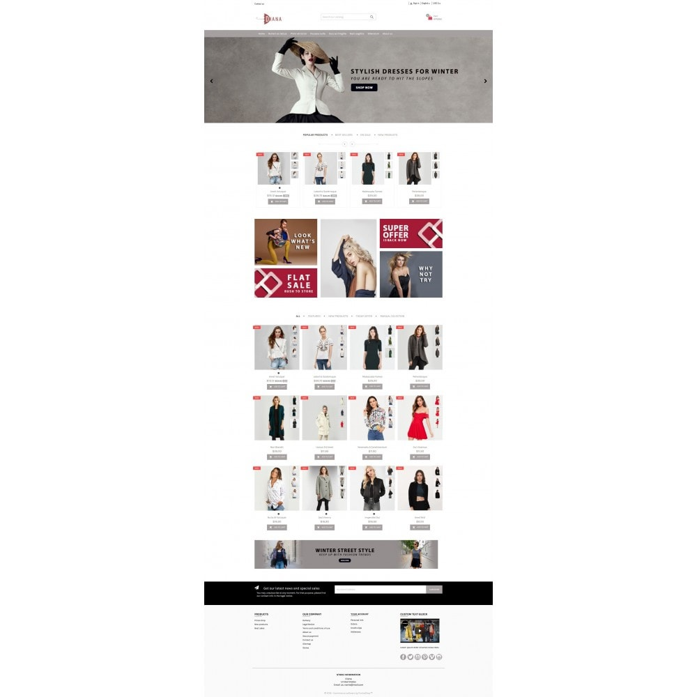 theme - Moda & Calzature - Diana - Fashion premium multipurpose - 6