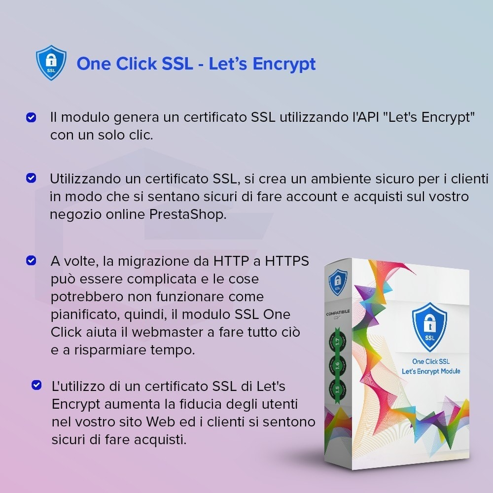 module - Security & Access - One Click SSL Let's Encrypt - 1