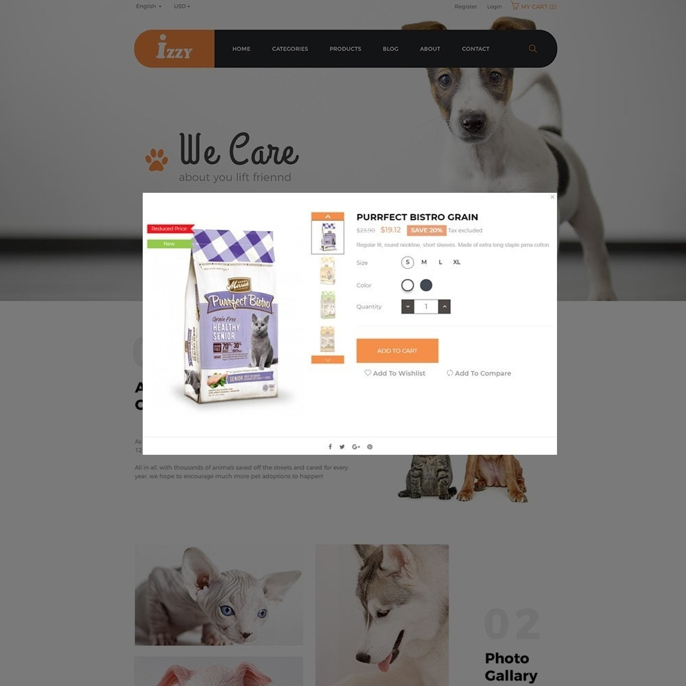 theme - Animali - Bos Izzy Pet Shop & Veterinary Clinic - 5