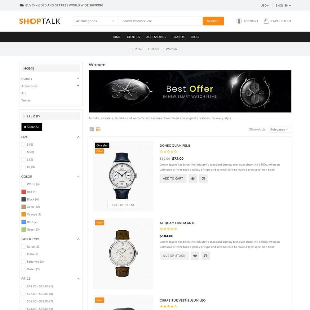 theme - Jewelry & Accessories - ShopTalk Watch Store - 5