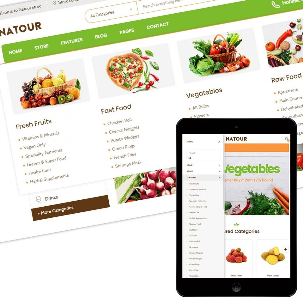 theme - Lebensmittel & Restaurants - Natour - 2