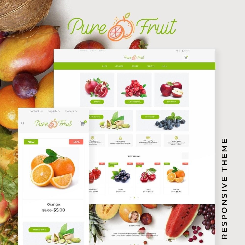 theme - Food & Restaurant - Pure Fruit - 1