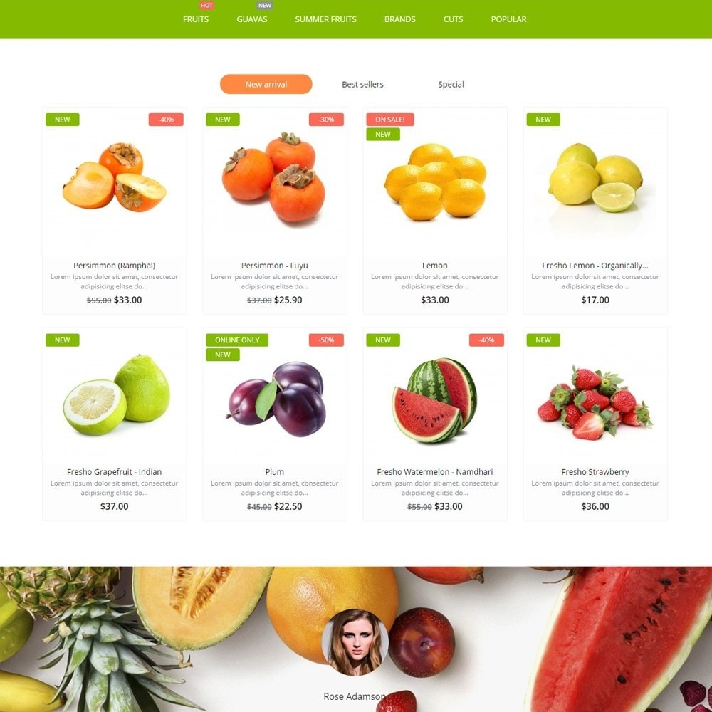 theme - Food & Restaurant - Pure Fruit - 3