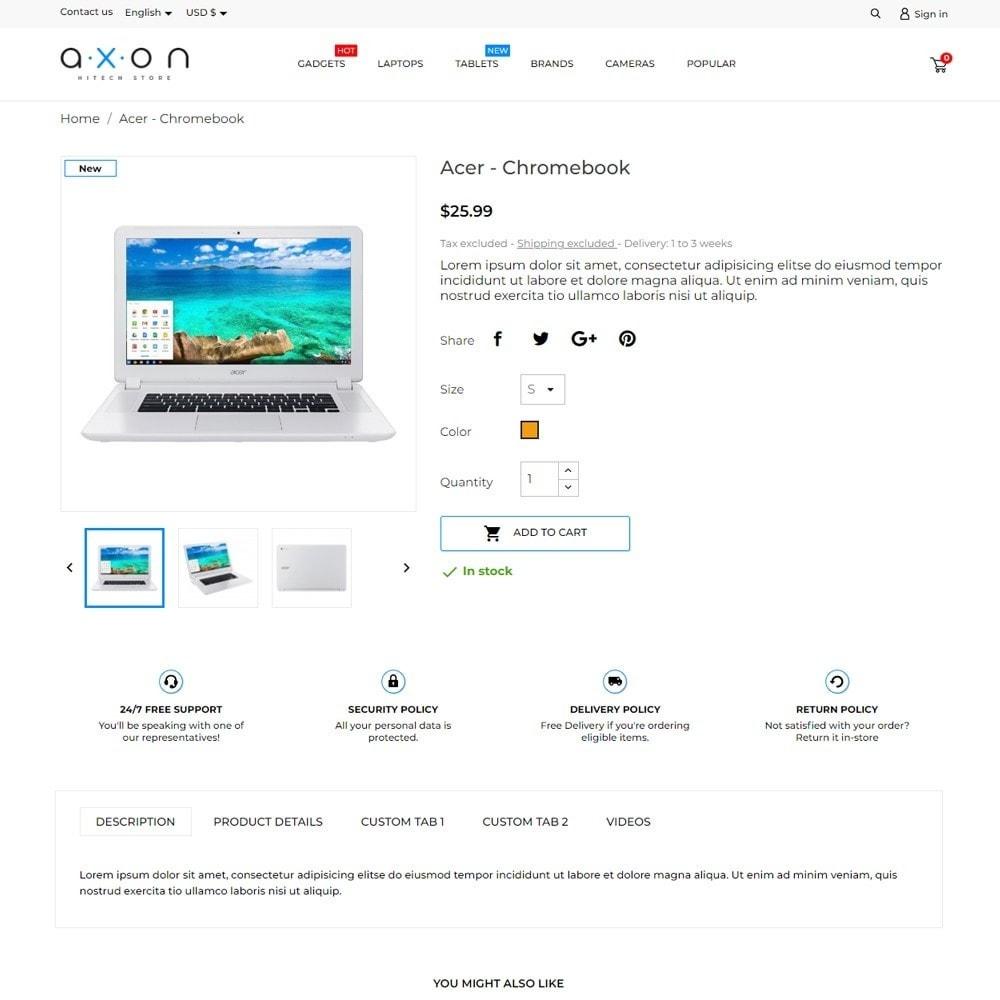 theme - Electronics & Computers - Axon - High-tech Shop - 5