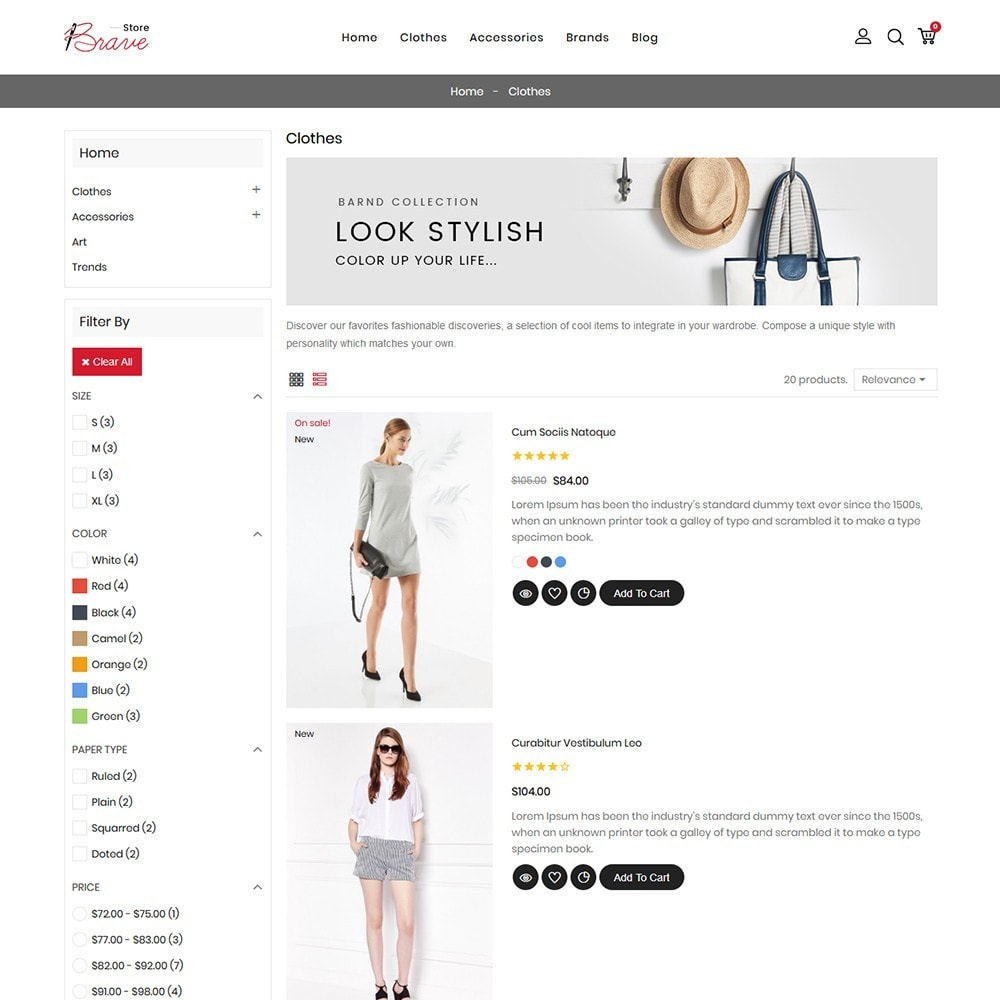 theme - Mode & Chaussures - Brave Fashion Store - 5