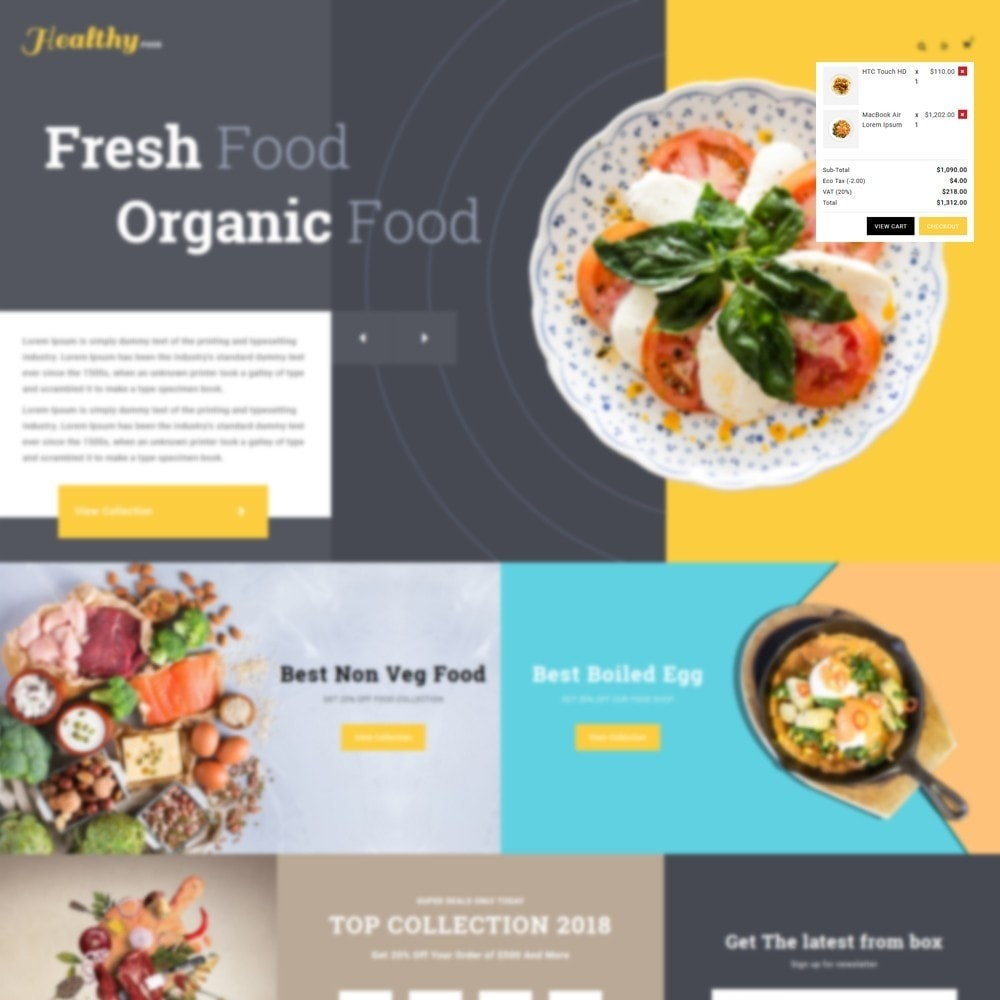 theme - Alimentation & Restauration - Food store - 7