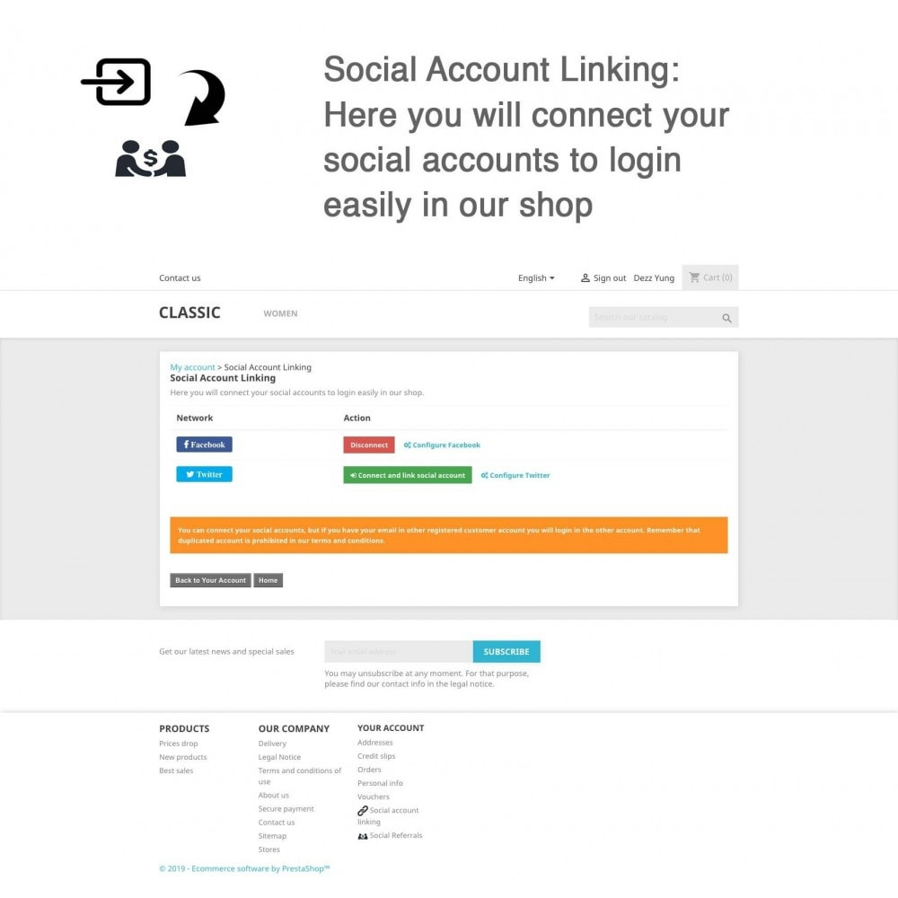 module - Descuentos en redes sociales - Social Referrals + Connects (2 in 1) - 11