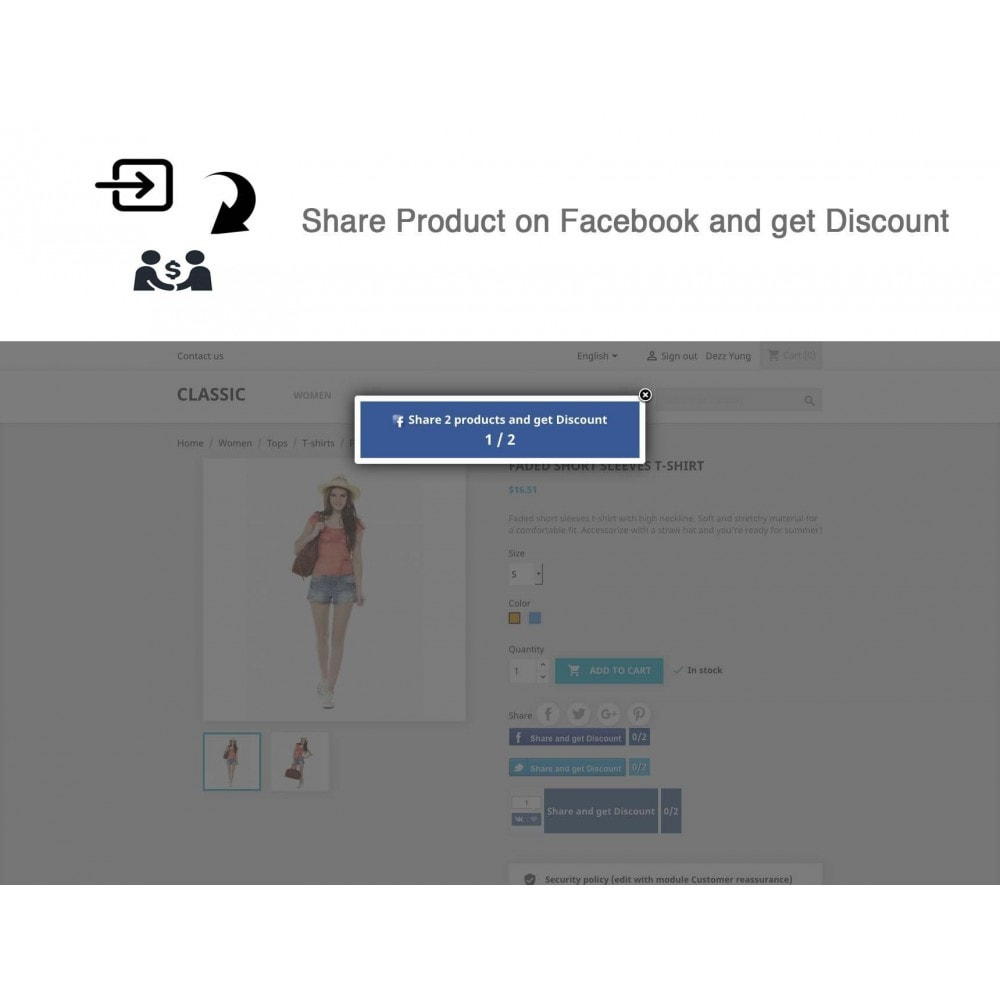 module - Social Rewards & Coupons - Social Referrals + Connects (2 in 1) - 18