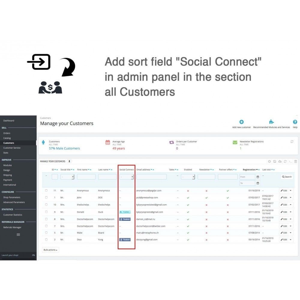 module - Descuentos en redes sociales - Social Referrals + Connects (2 in 1) - 29