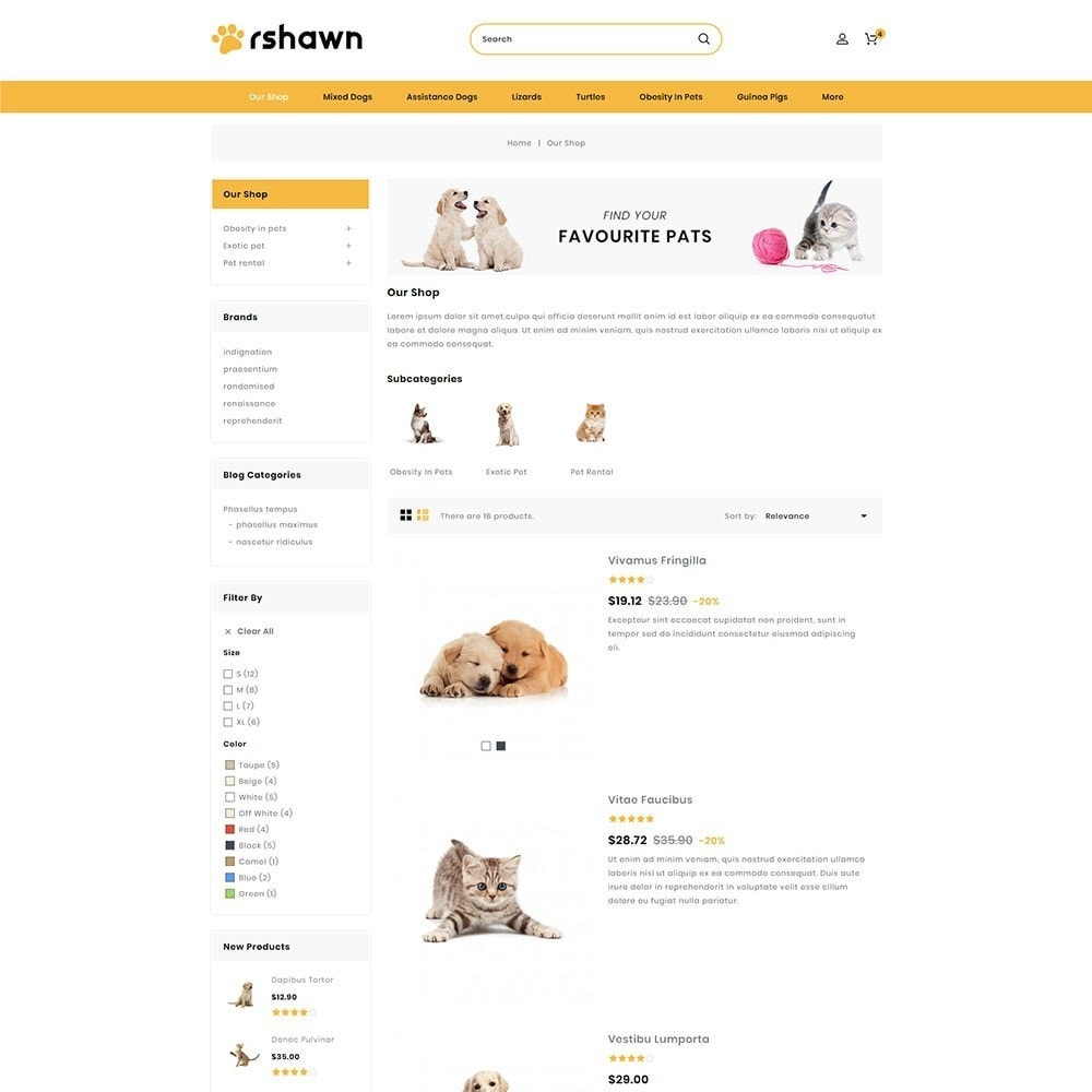 theme - Animali - Rshawn - The Pet Shop - 5
