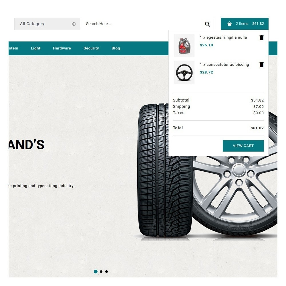 theme - Automotive & Cars - Straight Auto parts shop - 8