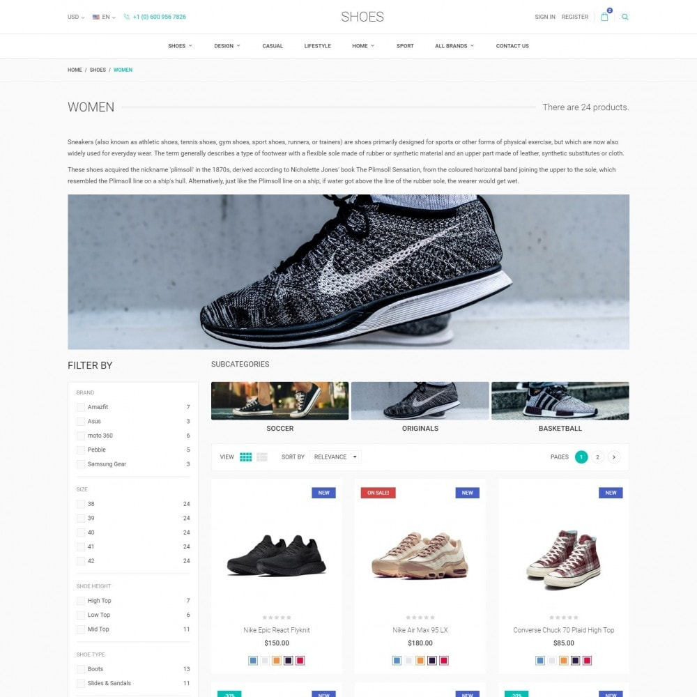 theme - Mode & Chaussures - World Footwear - Magasin de Chaussures - 3