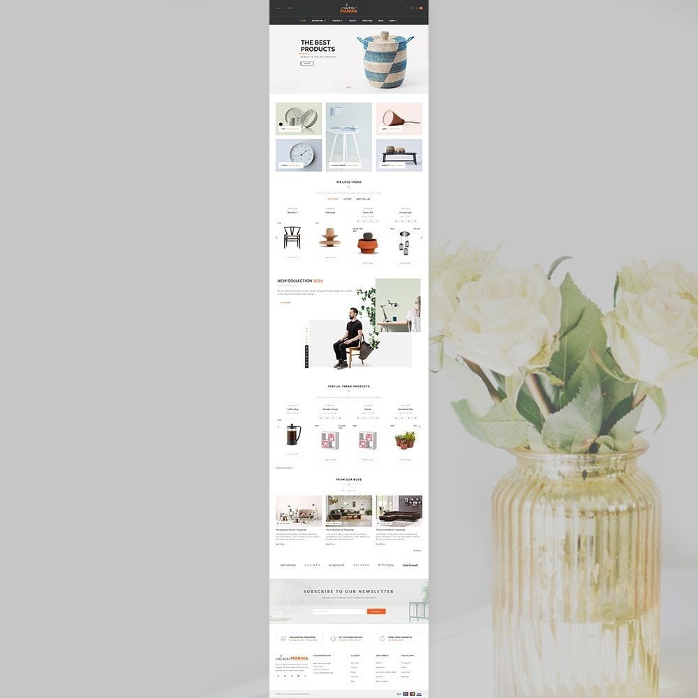 theme - Home & Garden - Marina Home Decor Furniture Store - 2