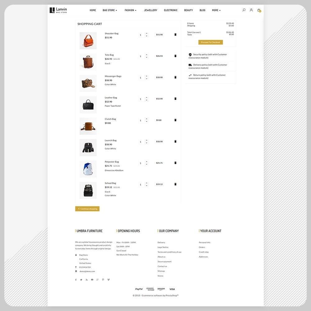 theme - Fashion & Shoes - Lanvin Bag Big Mall - 5