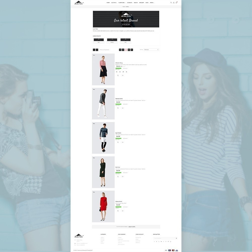 theme - Mode & Chaussures - Mountain Fashion Store - 3