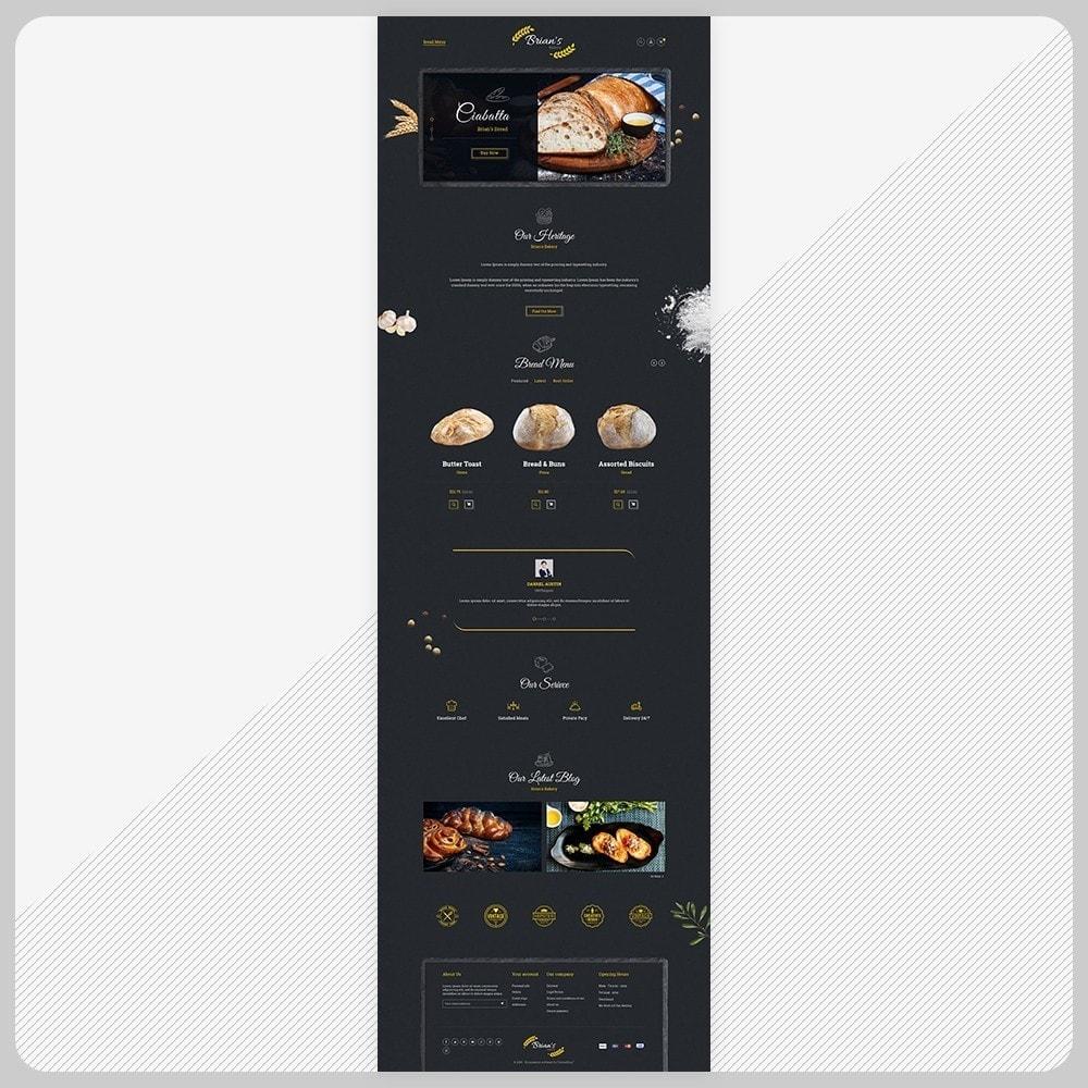 theme - Alimentos & Restaurantes - Giorgio Essen - Food Big Store - 2