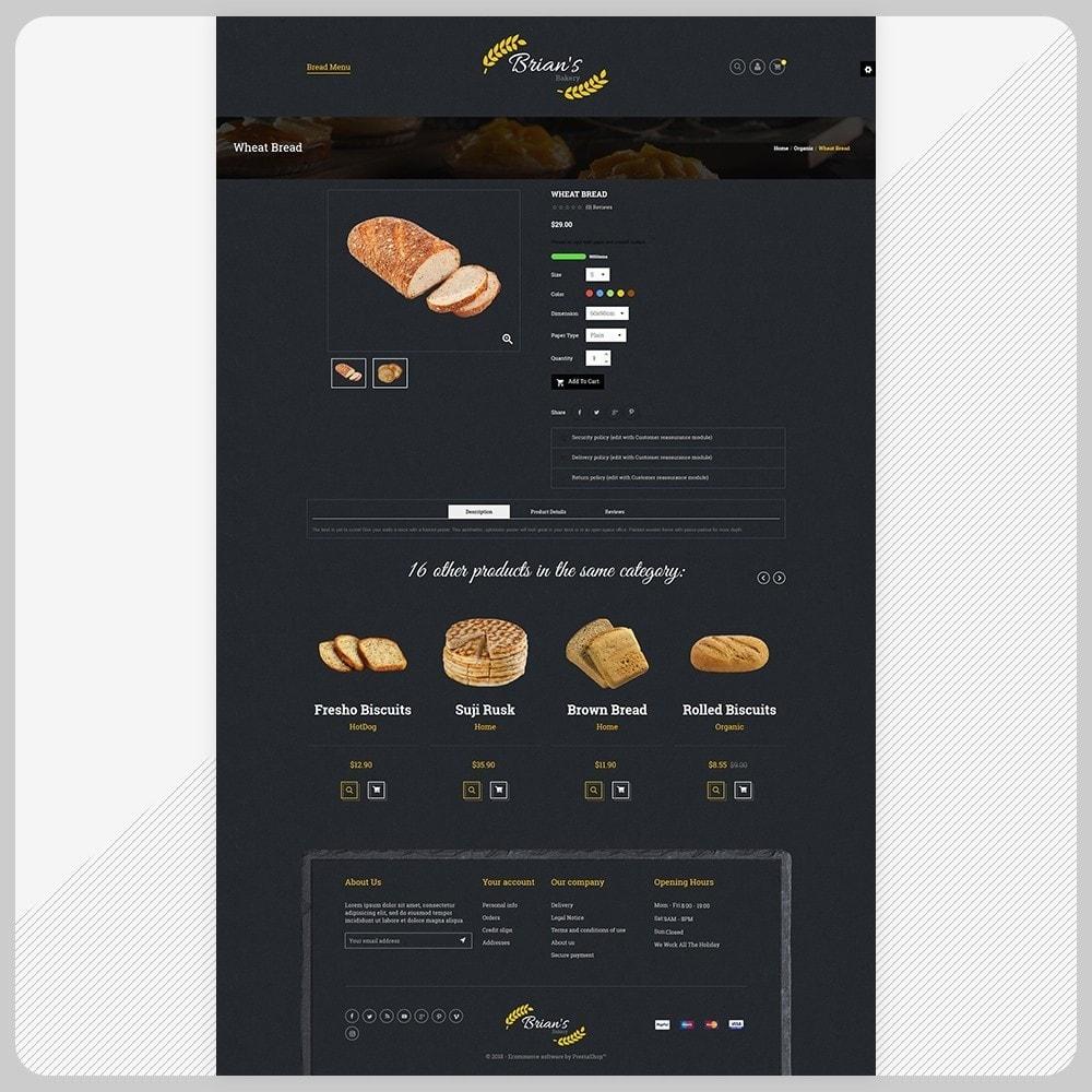 theme - Alimentos & Restaurantes - Giorgio Essen - Food Big Store - 4
