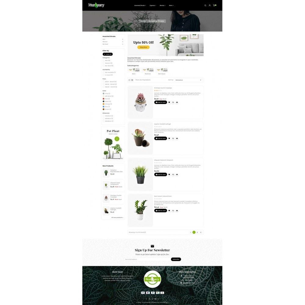 theme - Дом и сад - Nursery Plant & Green Gallery - 4
