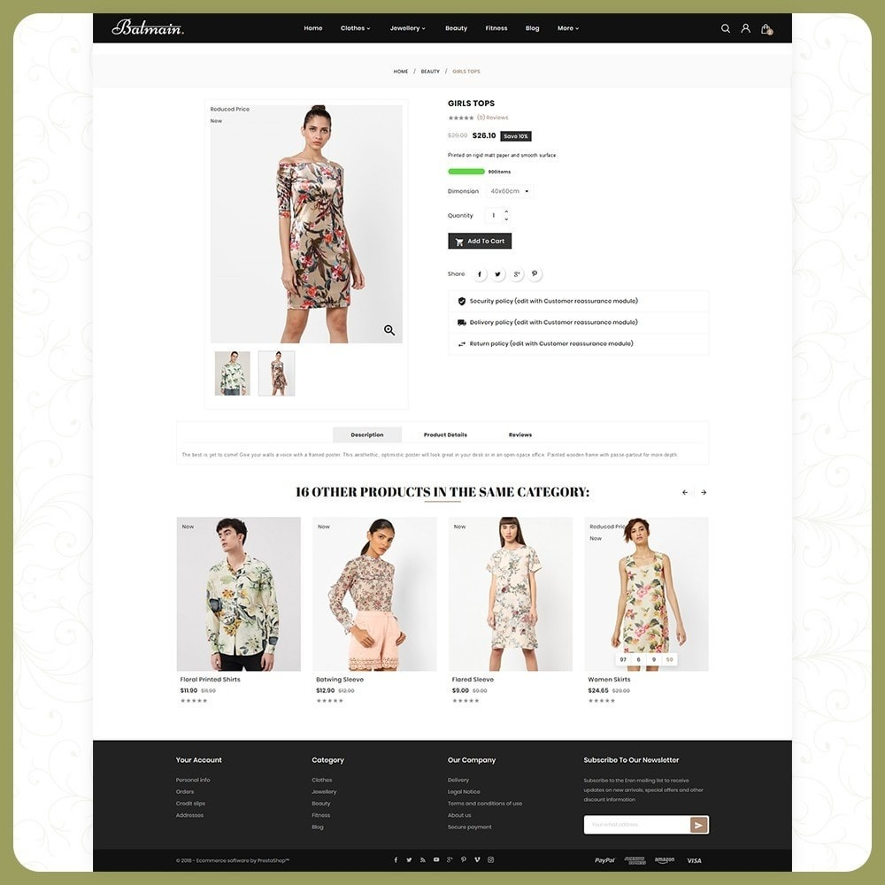 theme - Mode & Schuhe - Balmain Fashion Store - 4