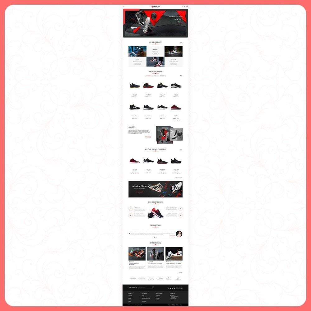 theme - Moda & Calçados - Metro Best Shoes Mega Store - 2