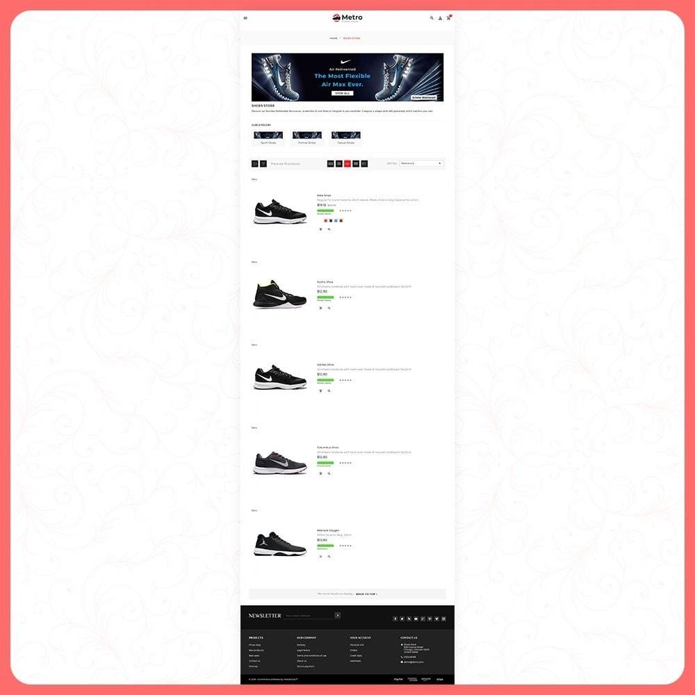 theme - Moda & Calçados - Metro Best Shoes Mega Store - 3