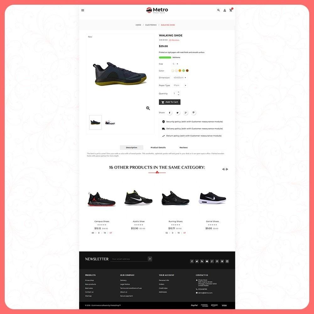 theme - Moda & Calçados - Metro Best Shoes Mega Store - 4