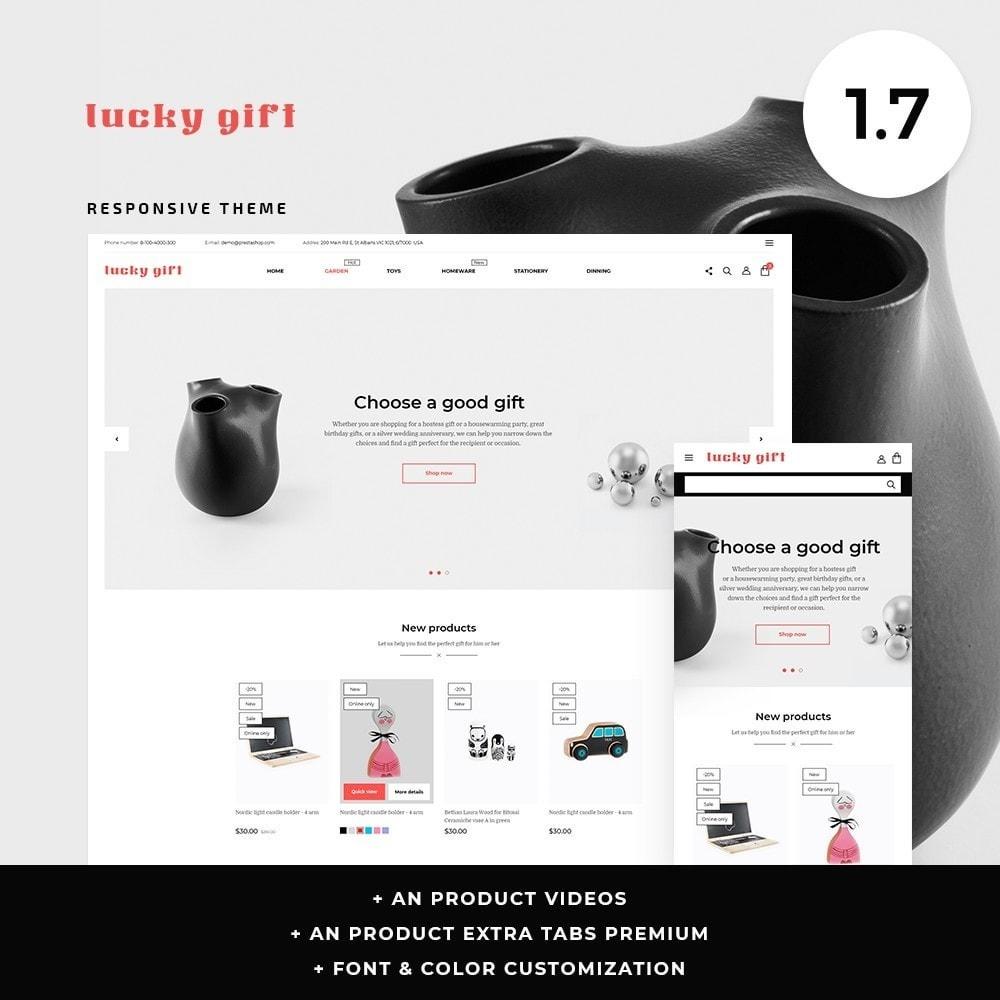 theme - Presentes, Flores & Comemorações - Lucky gift - 1