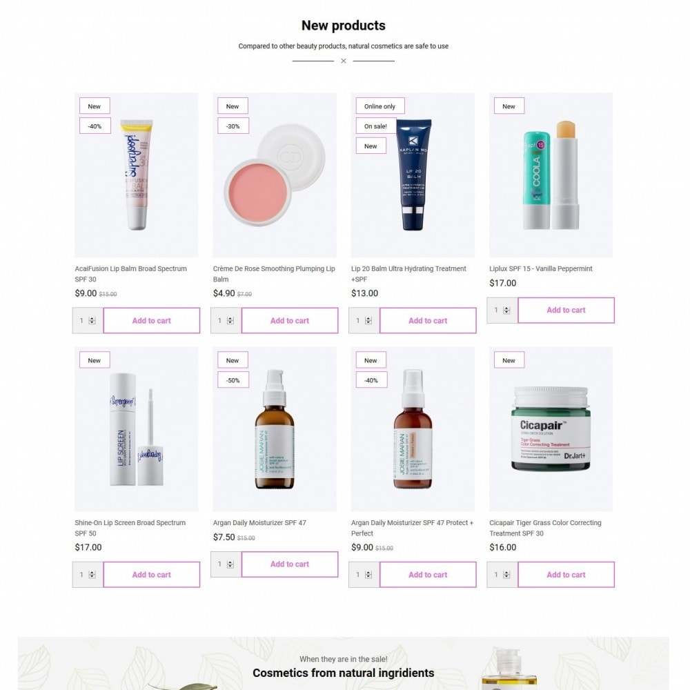 theme - Health & Beauty - Loveliness Cosmetics - 3
