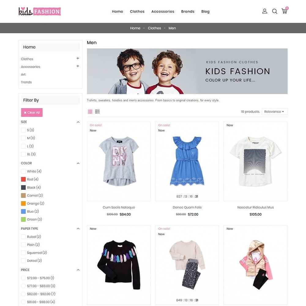 theme - Moda & Calçados - Kids Fashion Store - 4