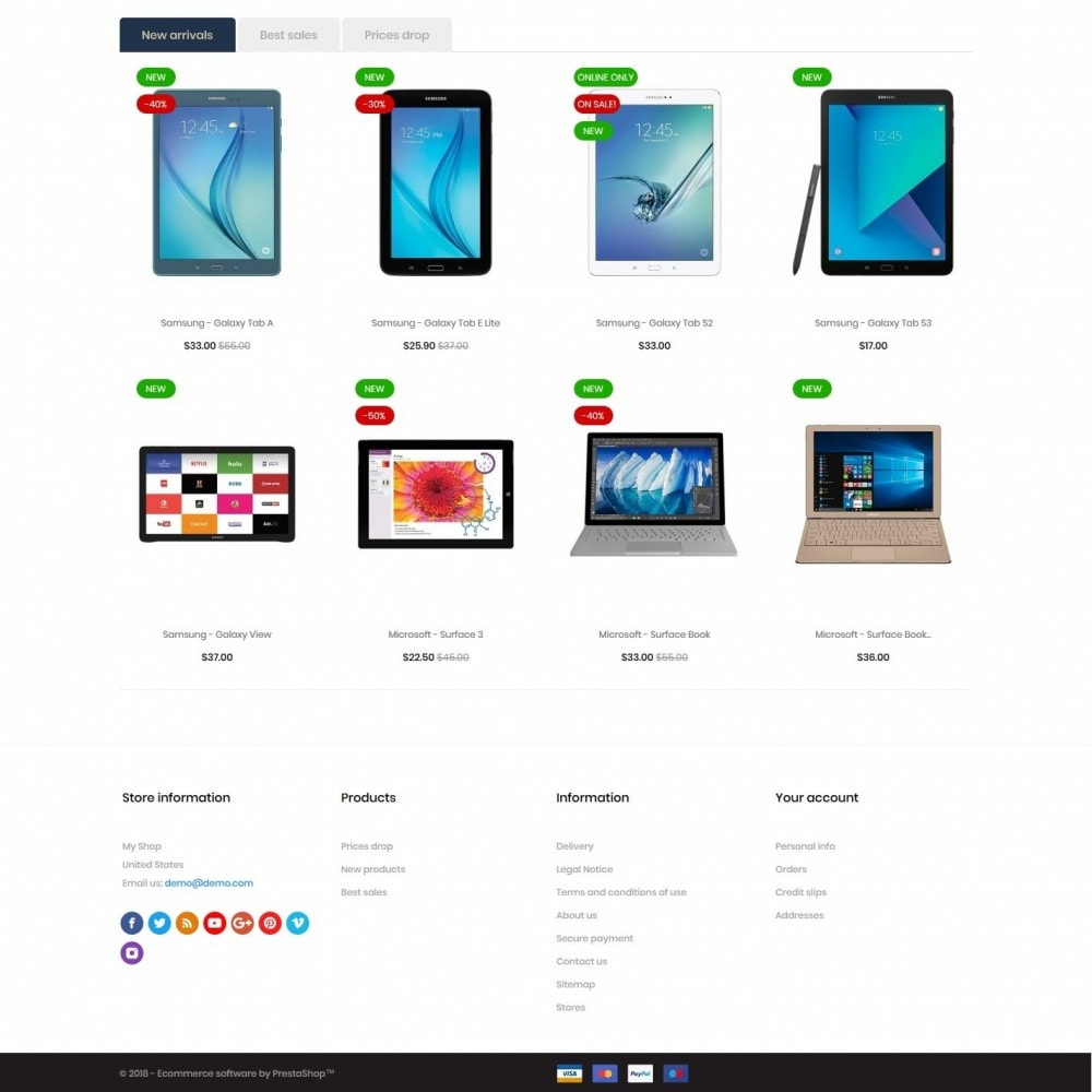 theme - Electronics & Computers - Chlorophytum - High-tech Shop - 4